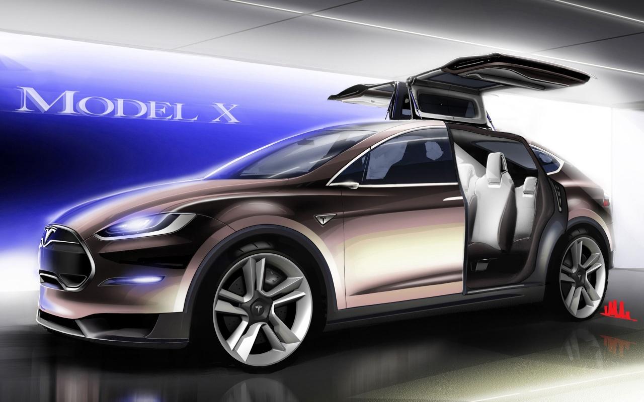 Tesla Model X Wallpaper HD Car Wallpapers 1280x800