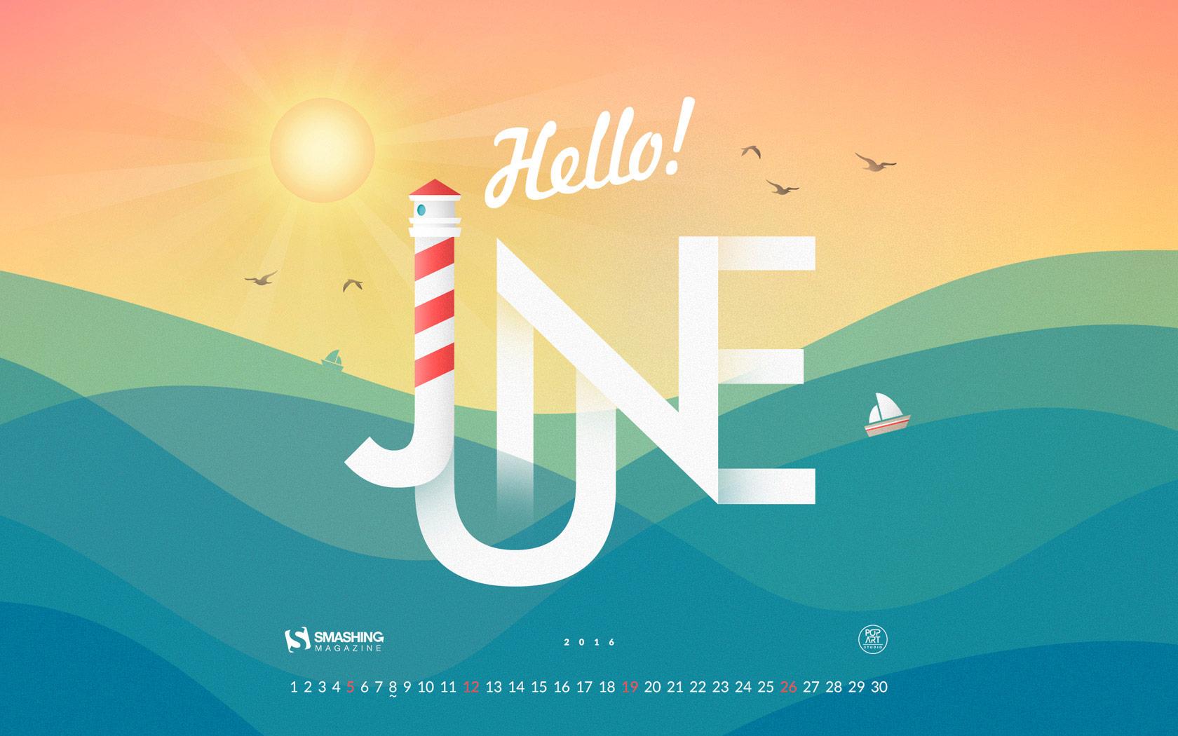 Desktop Wallpaper Calendars June 2016 Smashing Magazine 1680x1050