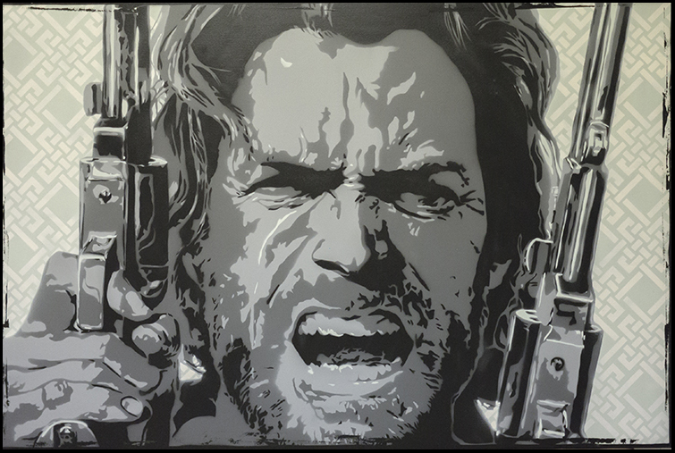 The Outlaw Josey Wales by clayolsonart 755x507