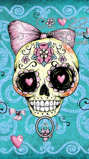 Sugar Skull Wallpaper Iphone Screenshots sugar skull girl 288x512