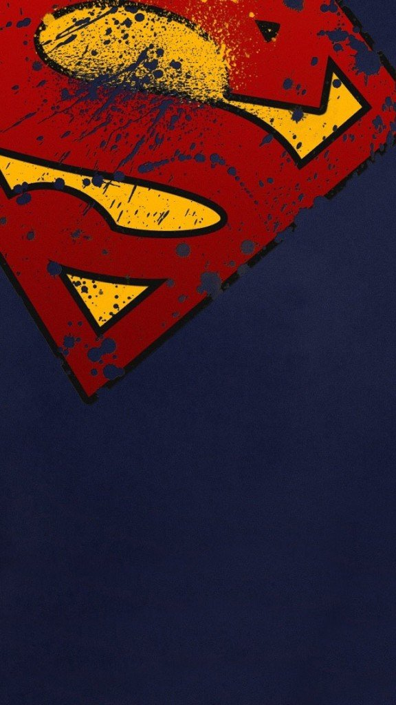 Superman Shield Wallpapers for Phone 576x1024
