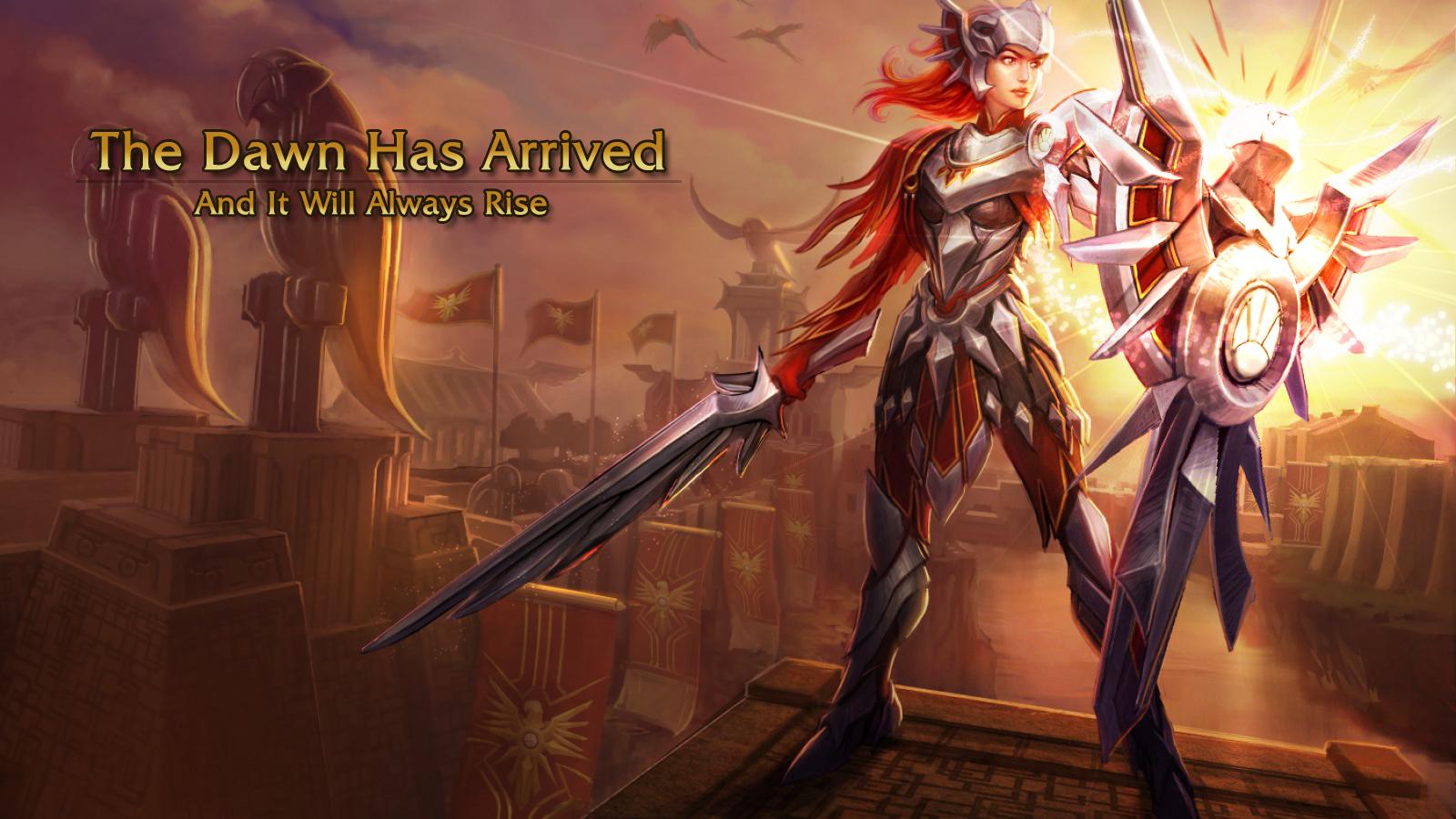 Free Download Leona League Of Legends Wallpaper Leona Desktop