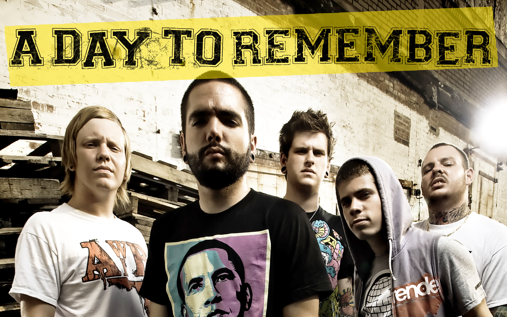 the Collection Band Music United States A Day To Remember 80253 1680x1050