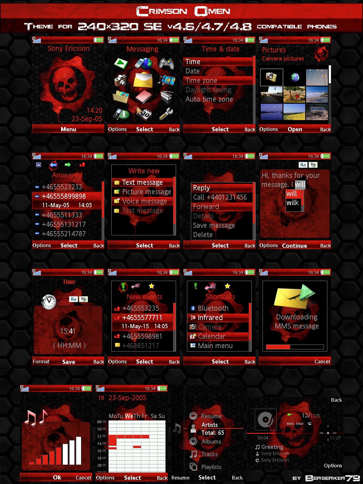 GOW Crimson Omen SE Theme by Berserker79 1200x1600