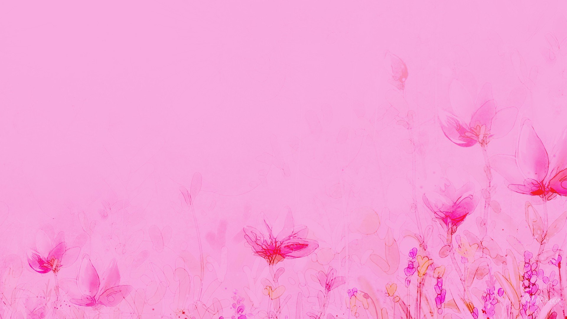 HD Light Pink Backgrounds 1920x1080