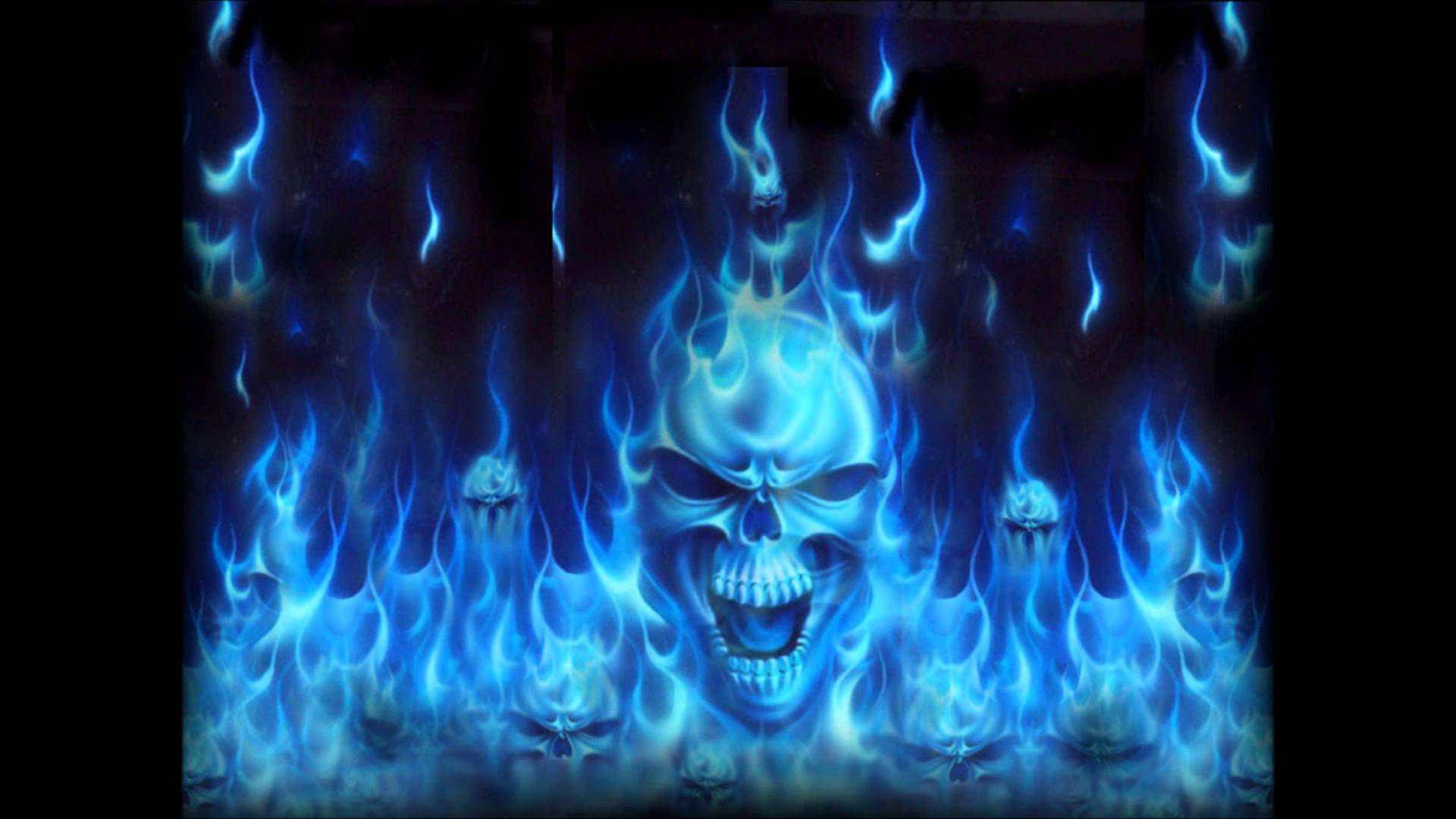Blue Fire Wallpapers HD   New HD Images 1920x1080