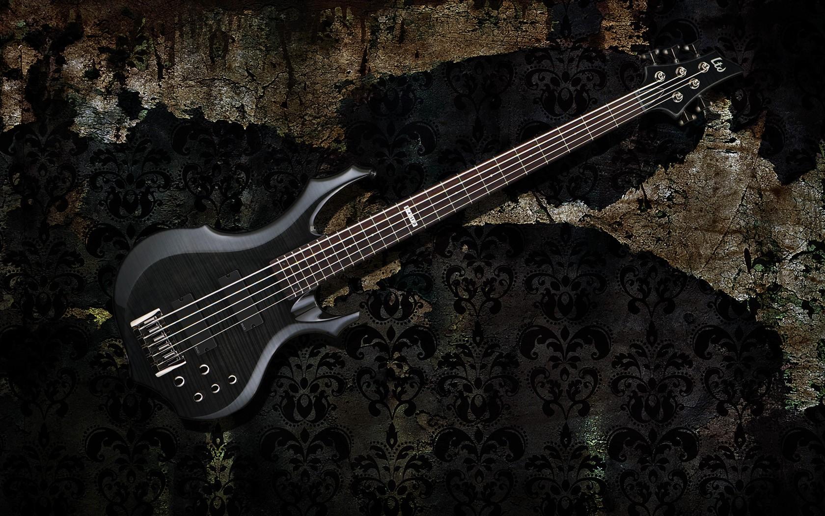 LTD bass wallpaper Music Wallpaper Pinterest Bass Guitars 1680x1050