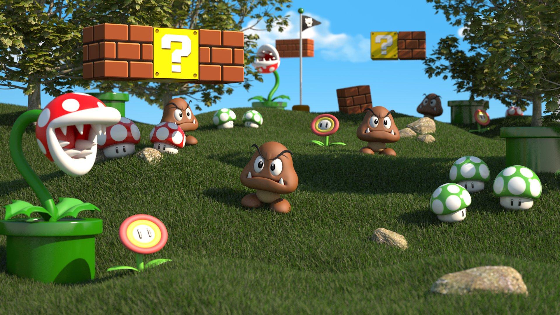 Free Download Video Game Super Mario 3d Land Wallpaper 1920x1080