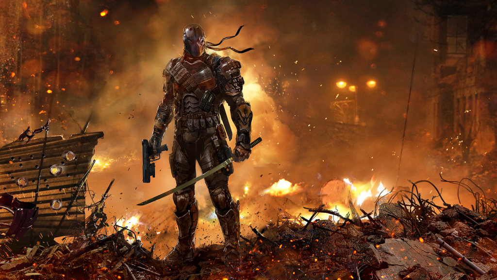 Deathstroke the Terminator by uncannyknack 1024x576
