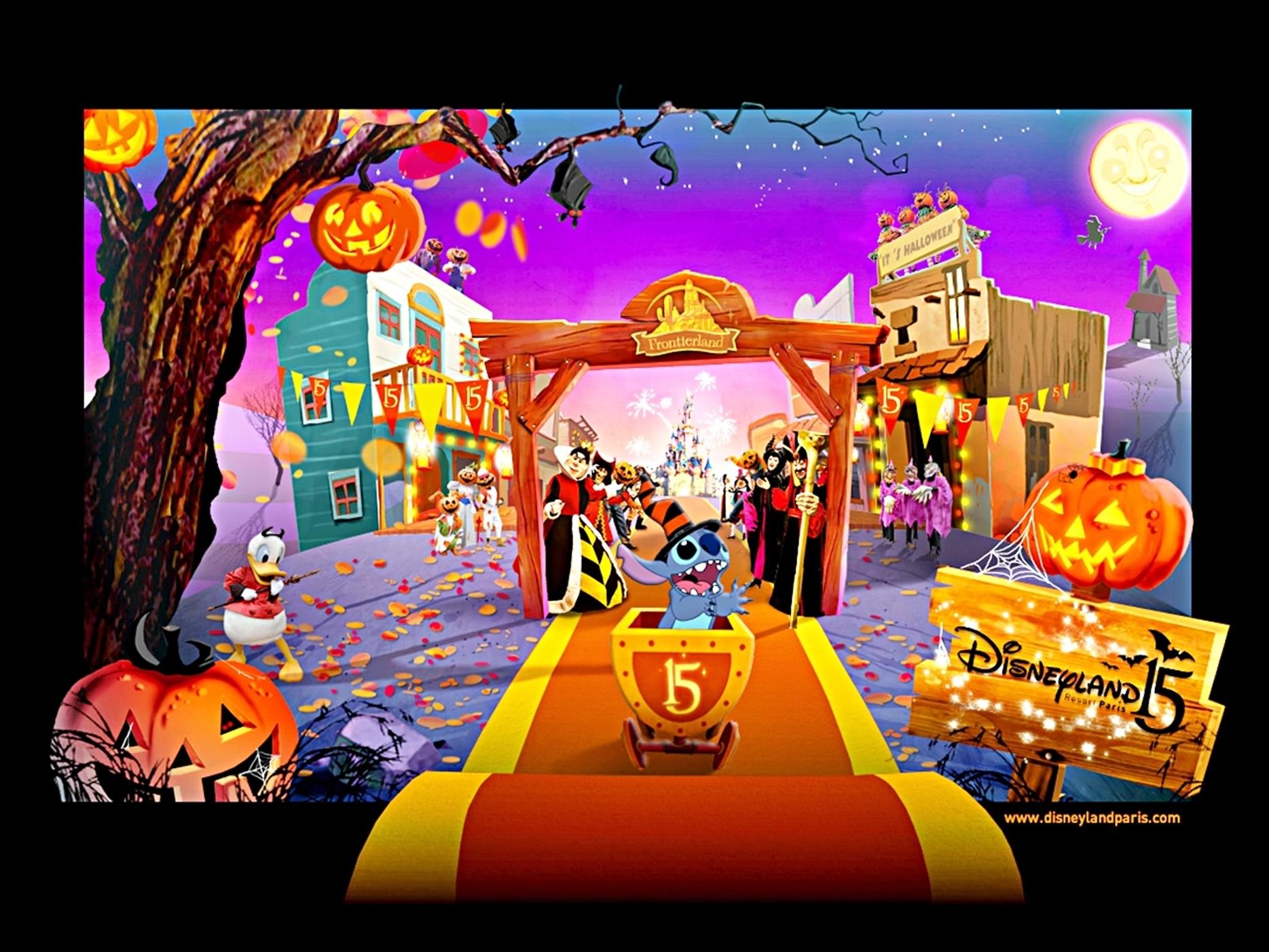 disneyland paris wallpaper wallpapersafari Disneyland 10th Anniversary Disneyland 45th Anniversary