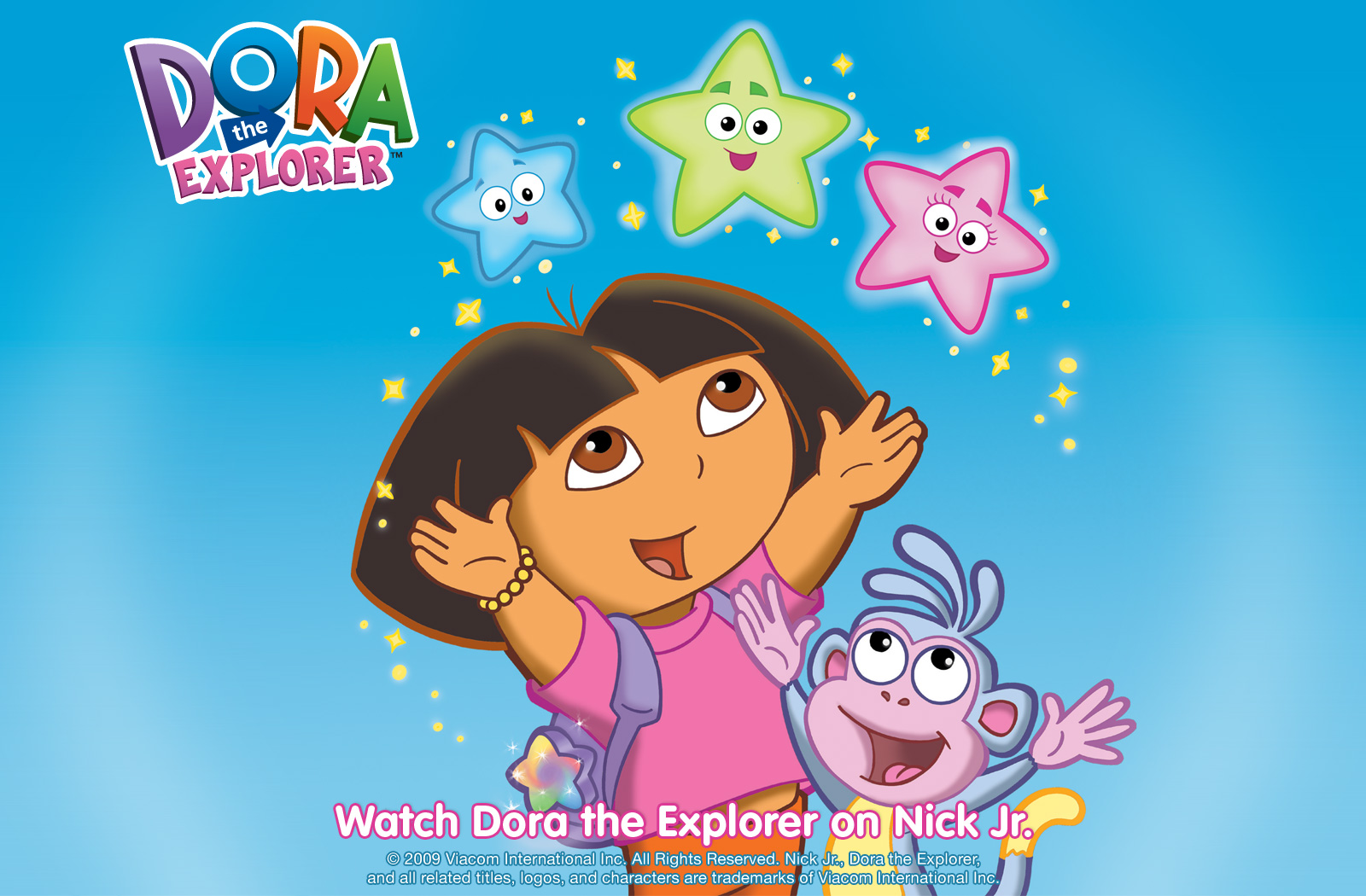 Dora The Explorer Wallpaper CARTOON 1600x1050
