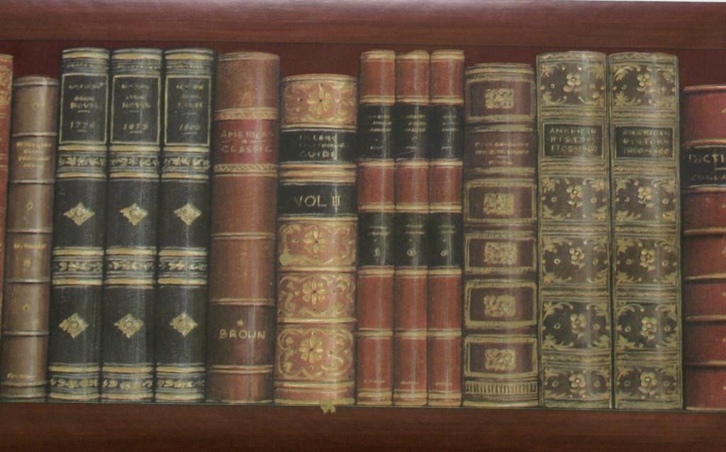 Library Books Wallpaper Borders Library Books Wallpaper Border 1024x637