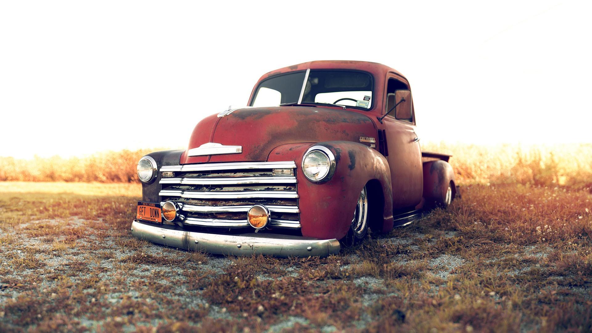 chevrolet trucks lowriders custom classic cars wallpaper background 1920x1080