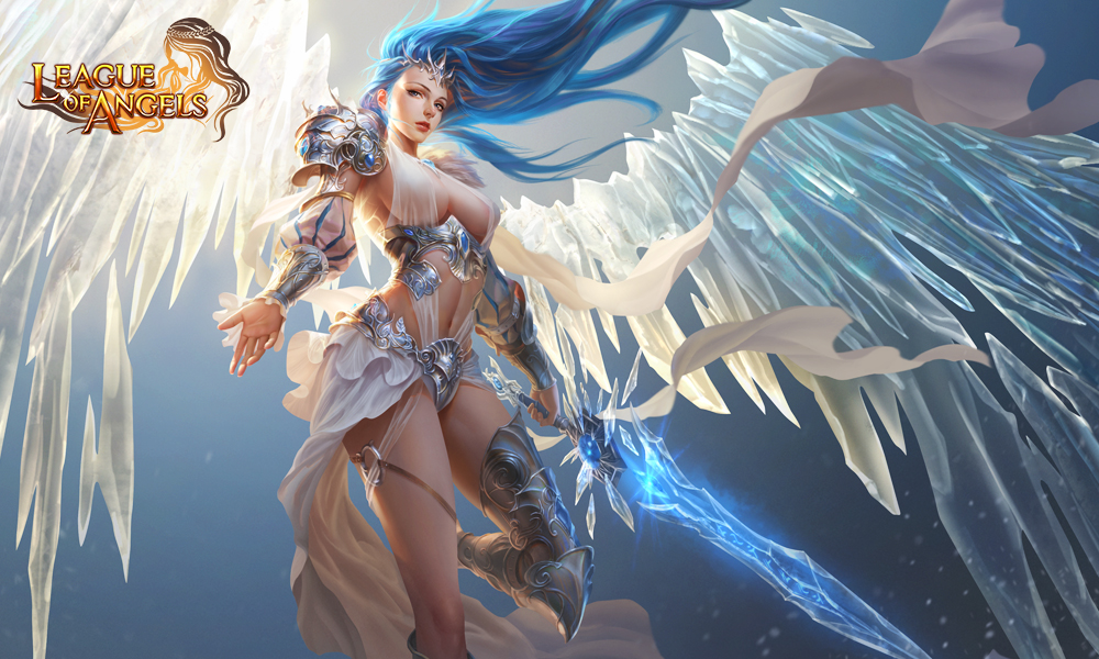 Free Download League Of Angels Wallpaper Play Online Games