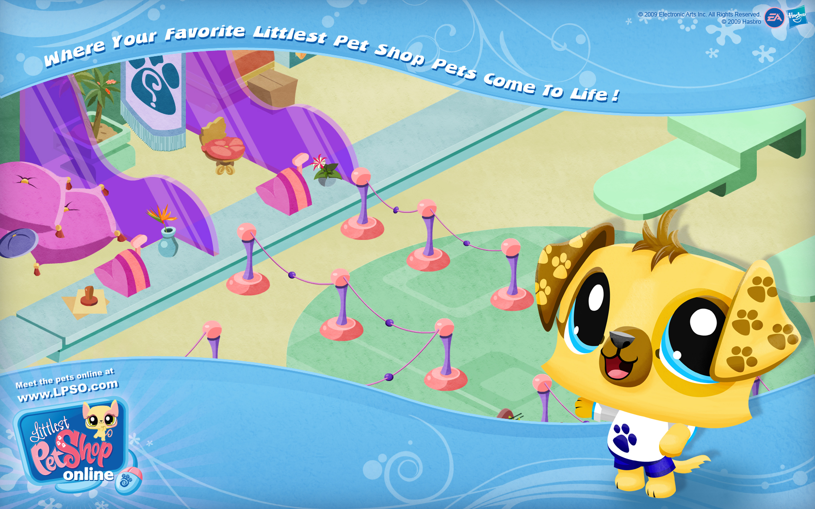 Littlest Pet Shop Lps Logo 1680x1050