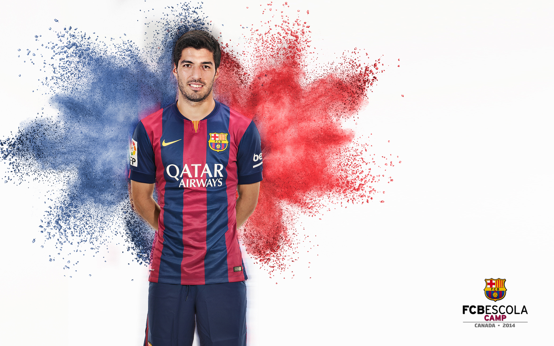 Luis Suarez FC Barcelona Club Player Wallpaper 1920x1200
