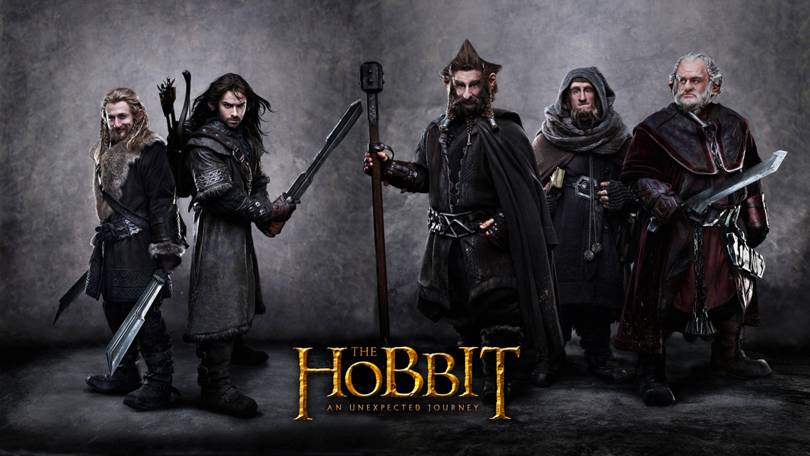 The Hobbit An Unexpected Journey HD Wallpapers for iPhone 5 1136x640