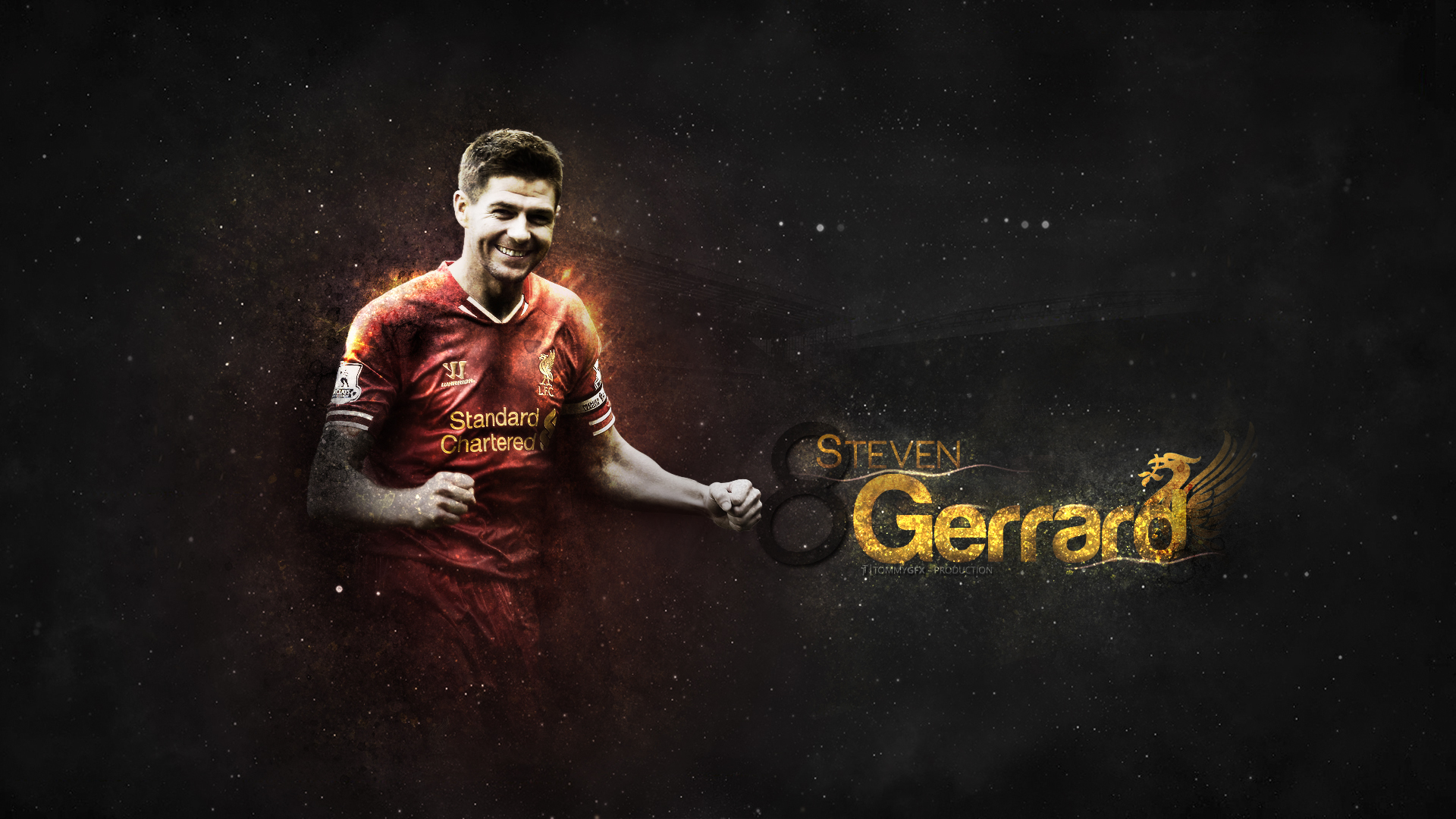 Steven Gerrard HD Football Wallpapers 1920x1080