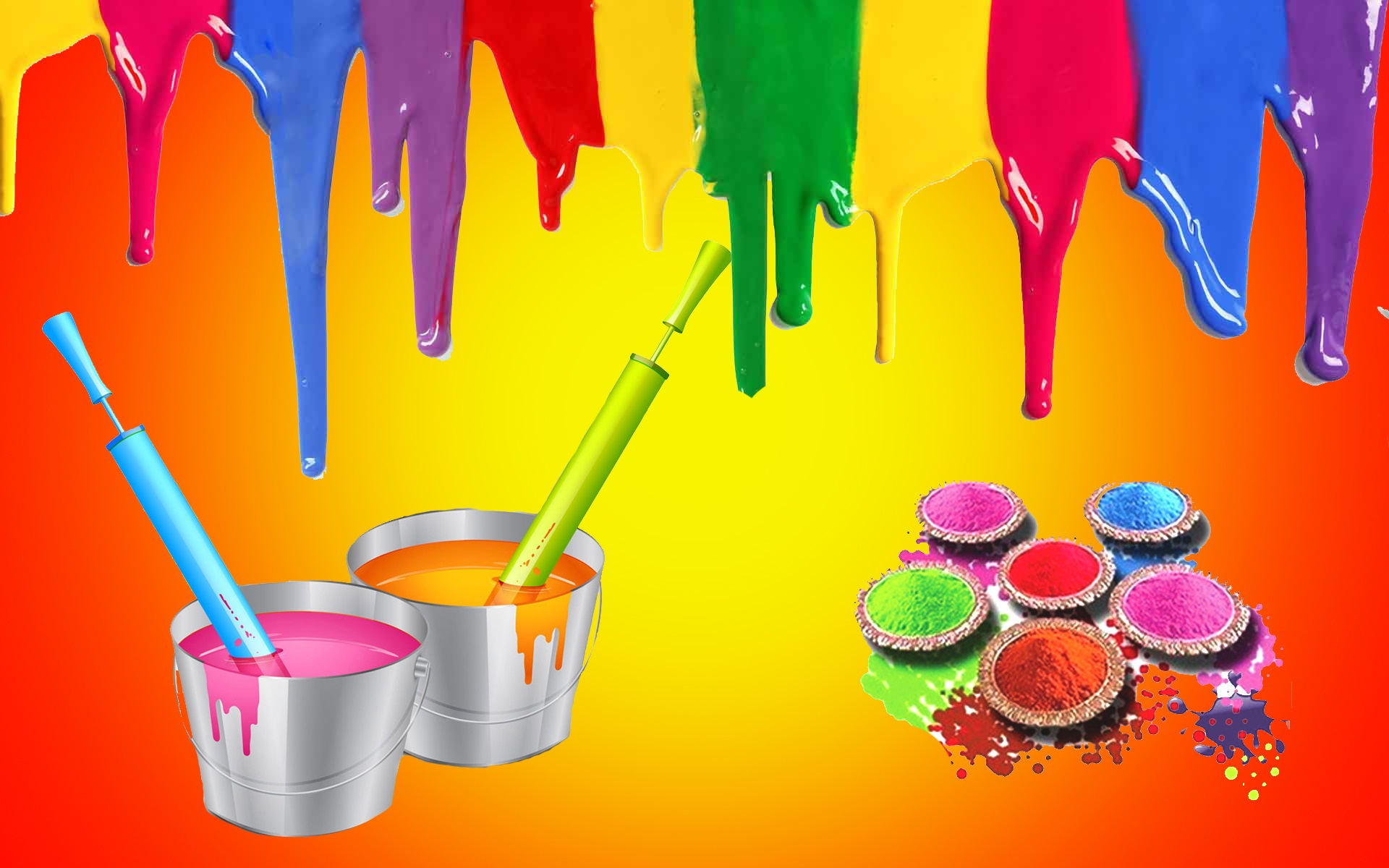Happy holi wallpapers Beautiful hd wallpaper 1920x1200