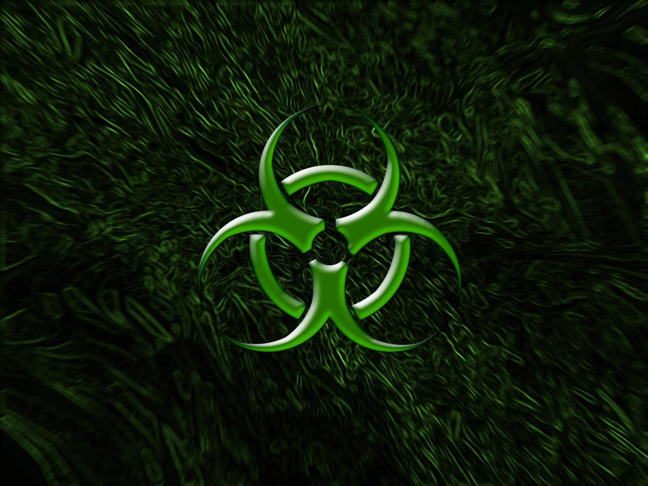 Green Biohazard Wallpaper Biohazard green by 1280x960