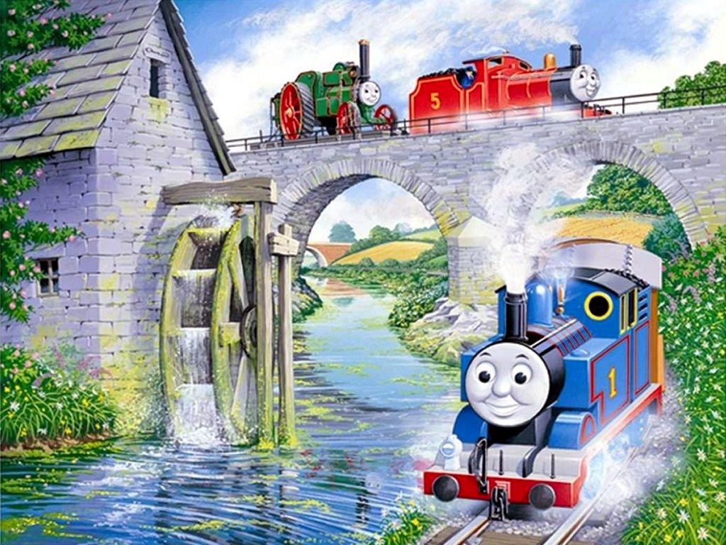 Thomas The Tank Train Wallpaper   Empirewallpaperscom 1024x768