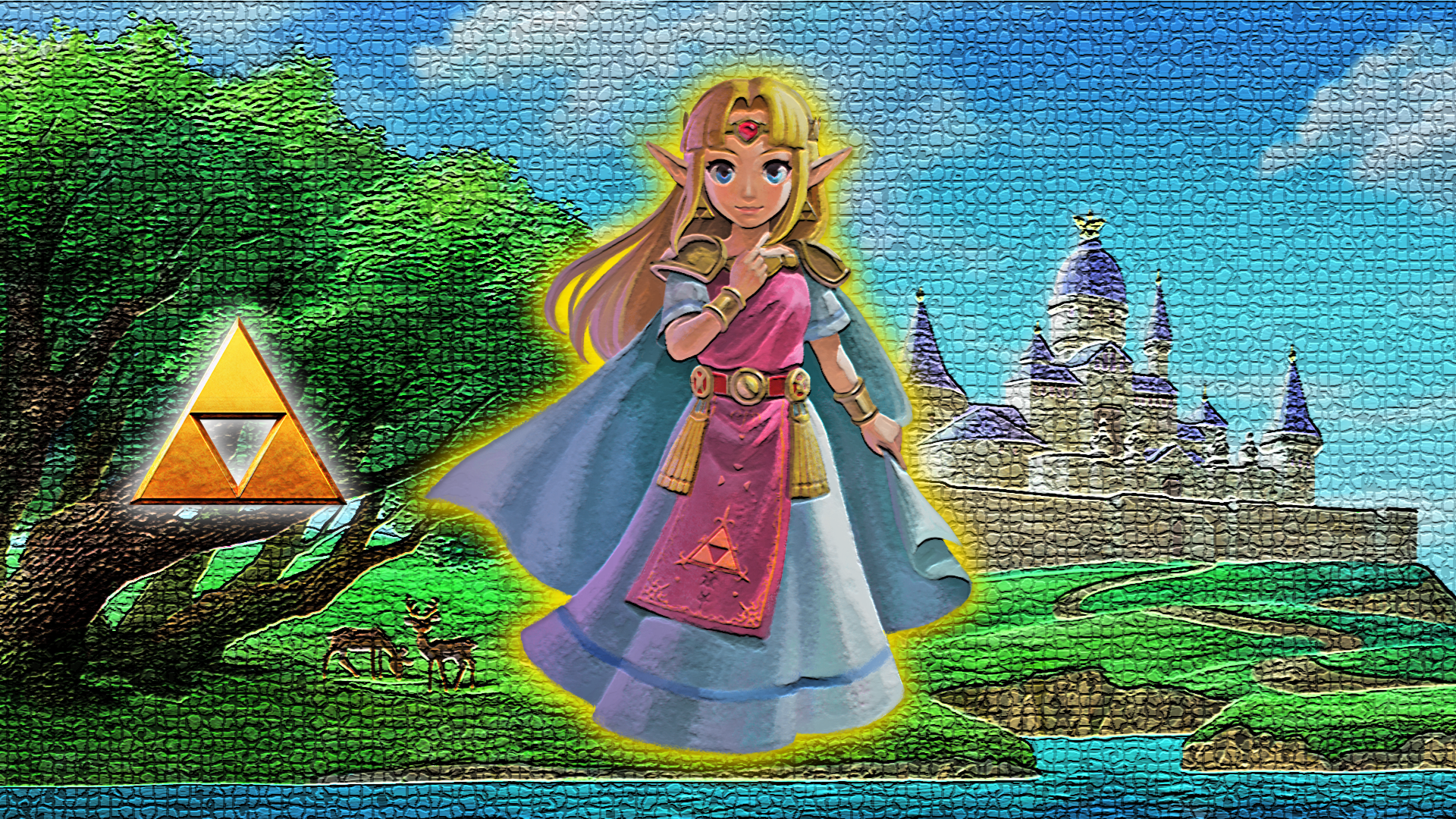 Princess Zelda Wallpaper by Glench 1920x1080