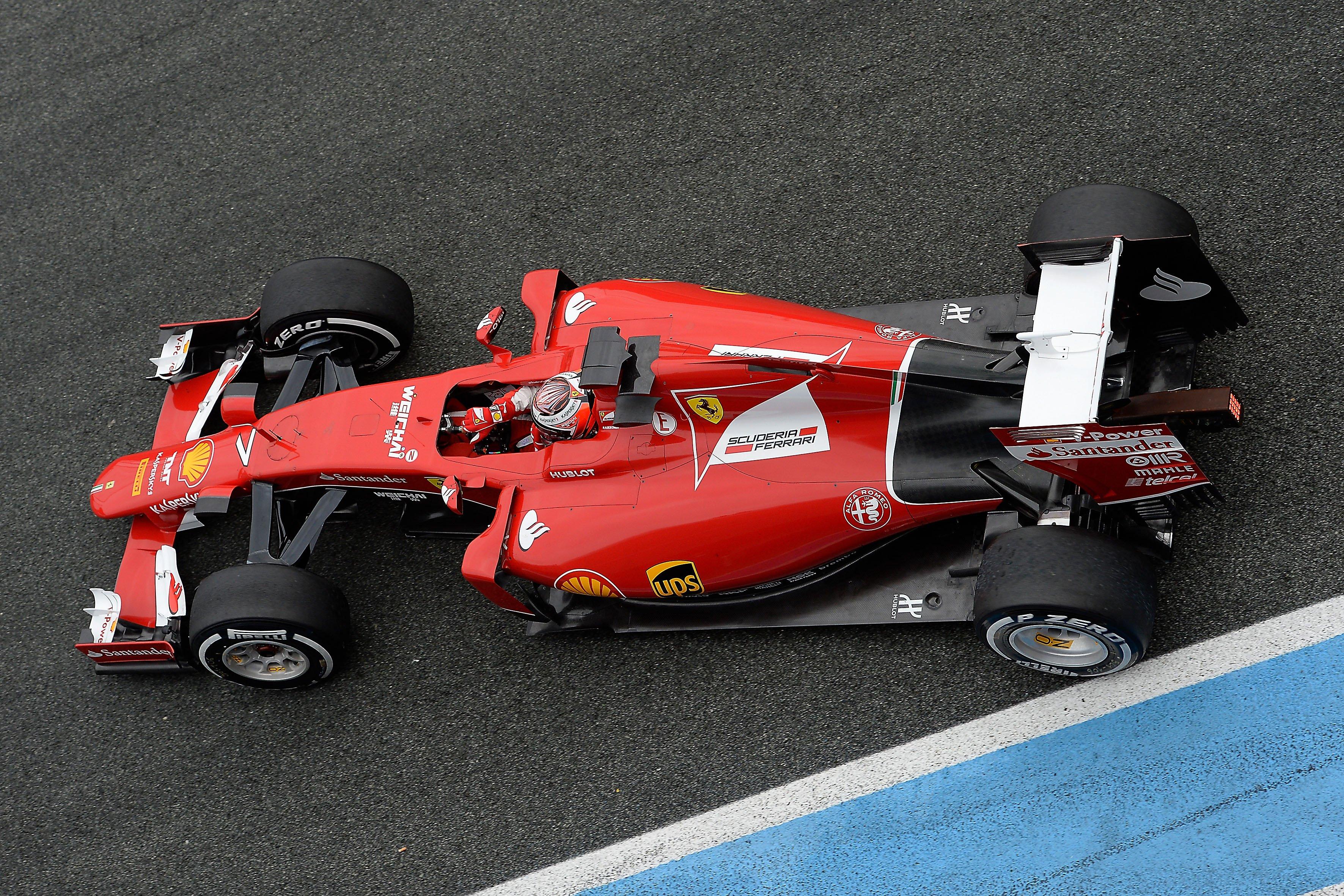 2015 Ferrari Formula one scuderia SF15 T wallpaper background 3543x2362