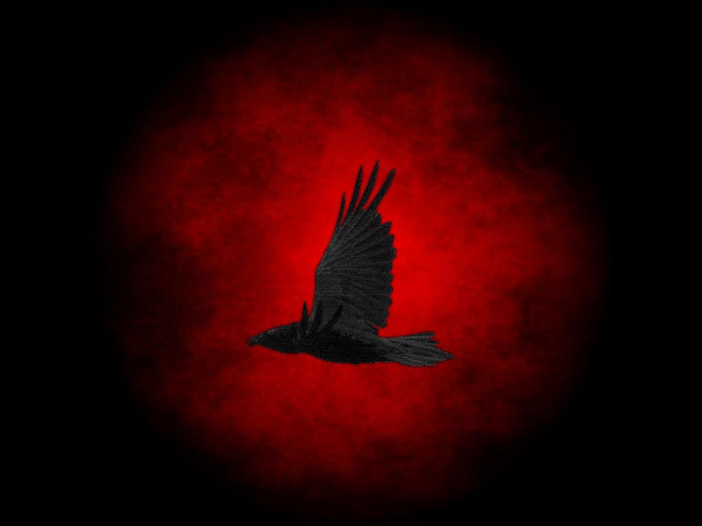 Dark Raven Wallpaper Altered 1024x768