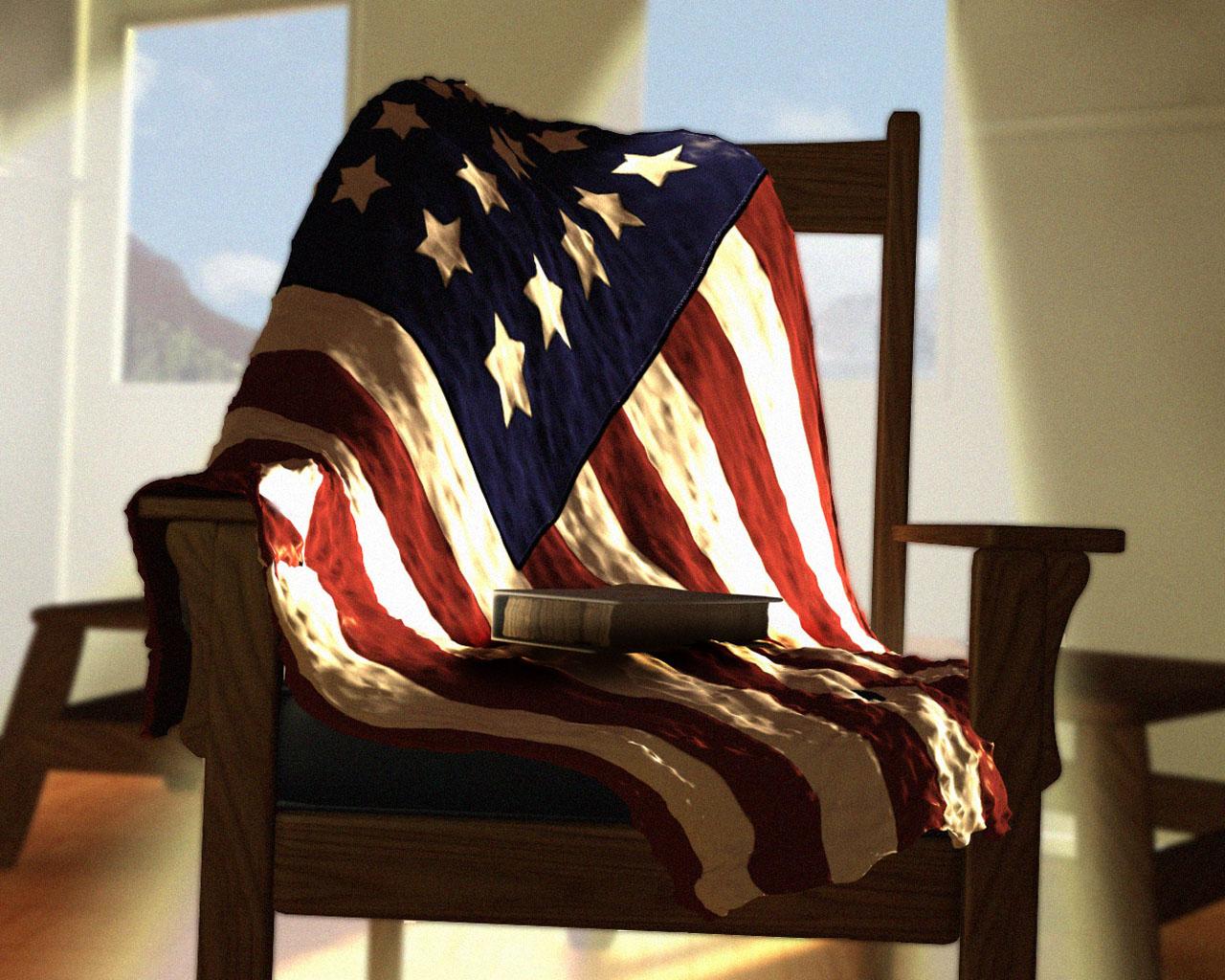 The American flag 3d pictures screensavers desktop download 1280x1024
