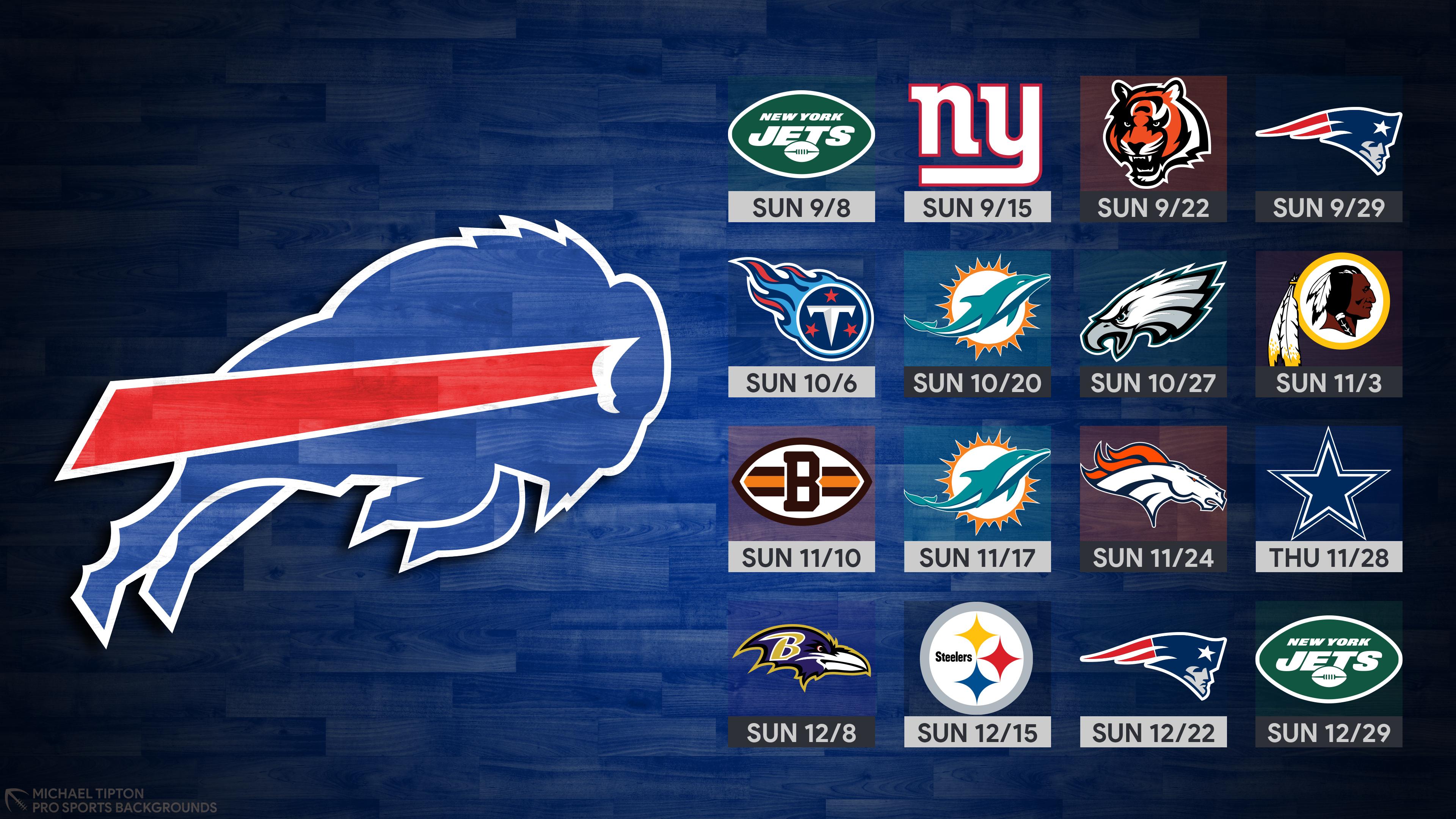 2019 Buffalo Bills Wallpapers Pro Sports Backgrounds 3840x2160