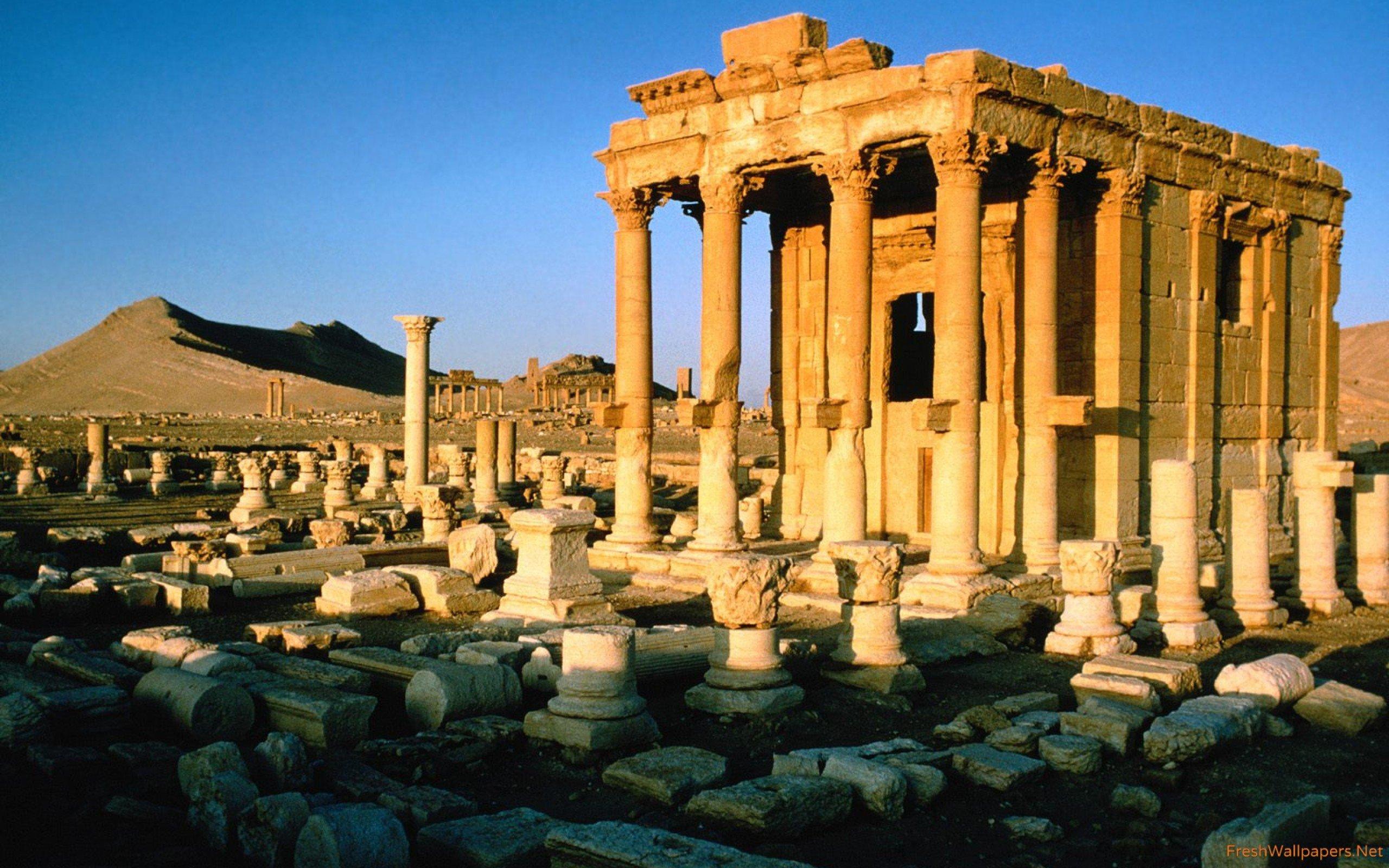 Palmyra Ruins Syria wallpapers Freshwallpapers 2560x1600
