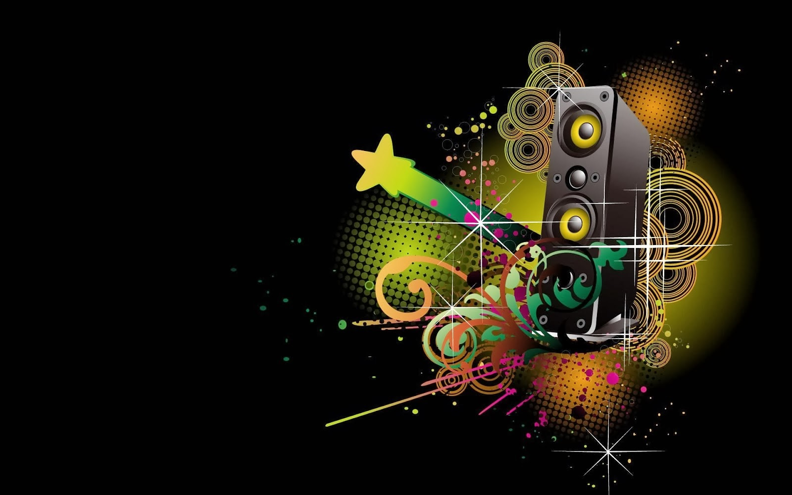 Really Cool Desktop Backgrounds Hd Cool music hd wallpapers 1600x1000