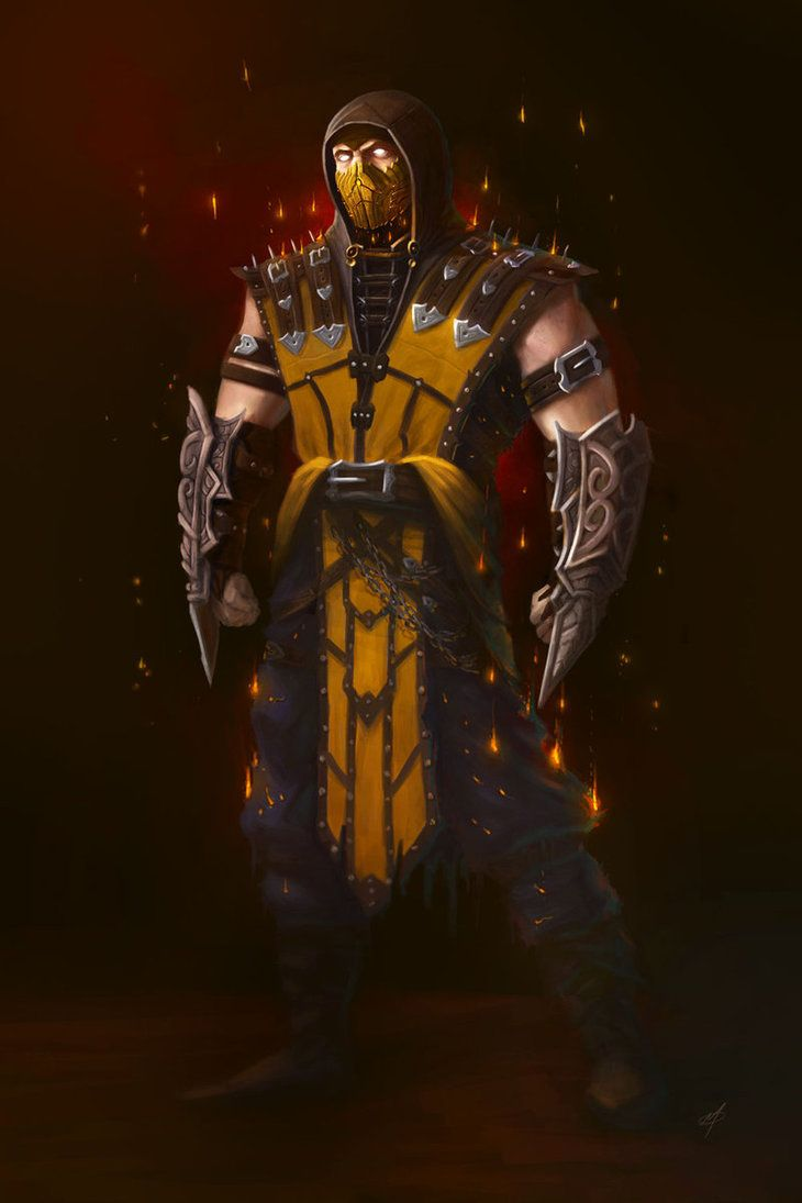 Scorpion Scorpion Scorpion mortal kombat Mortal Kombat 730x1095