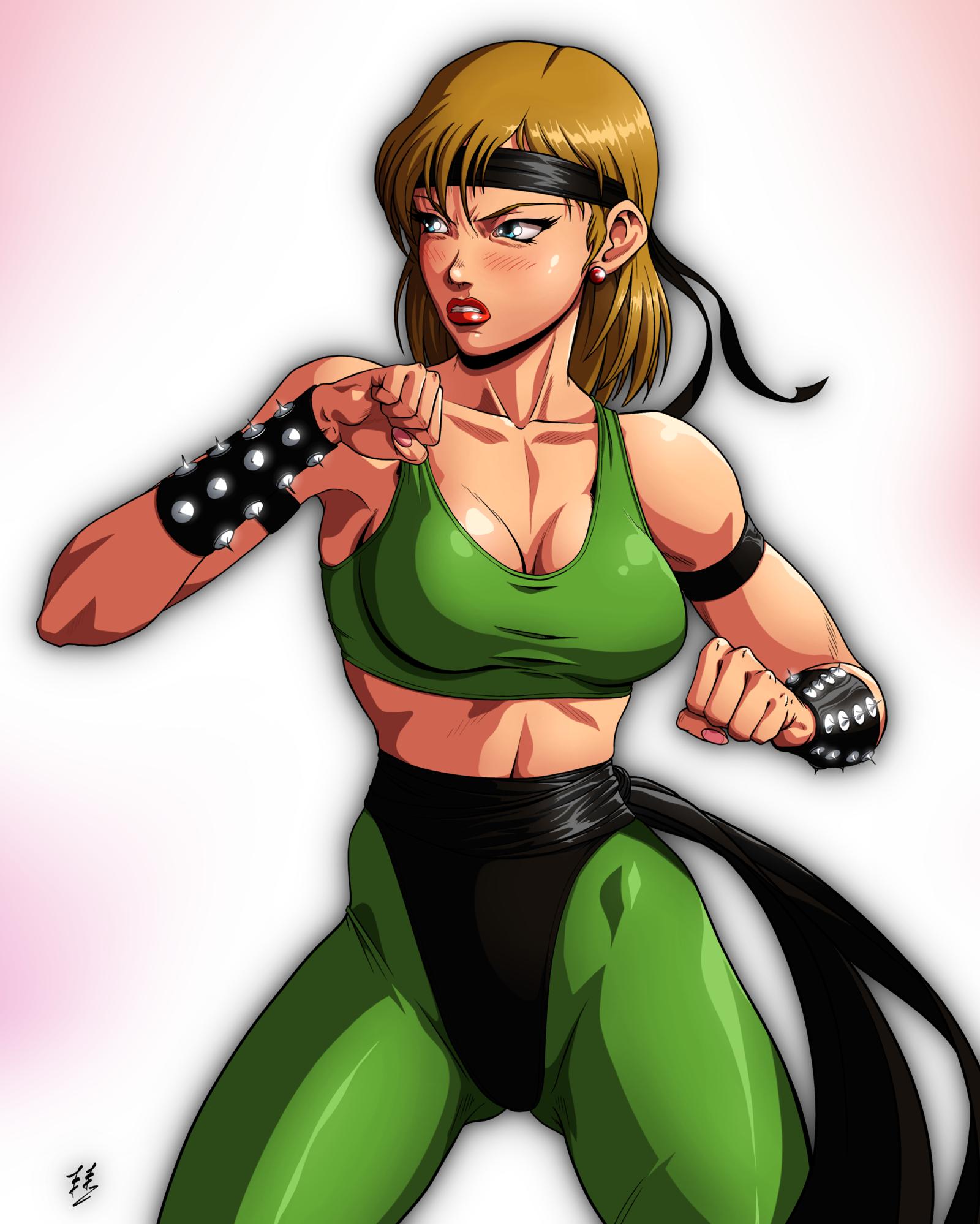 Sonya Blade by ZabZarock 1600x1998