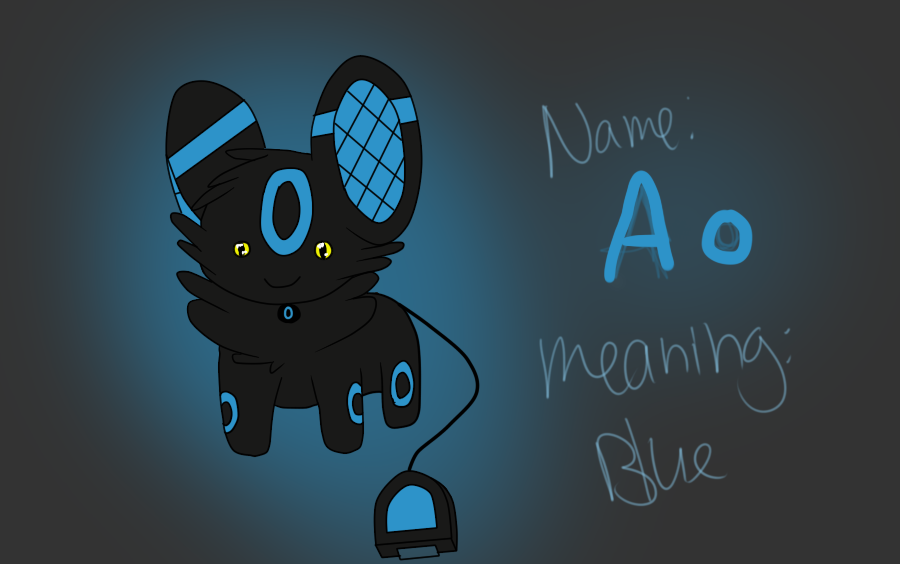 Adopted PMS Ao Shiny Umbreon By KuroAkuOokami 900x564
