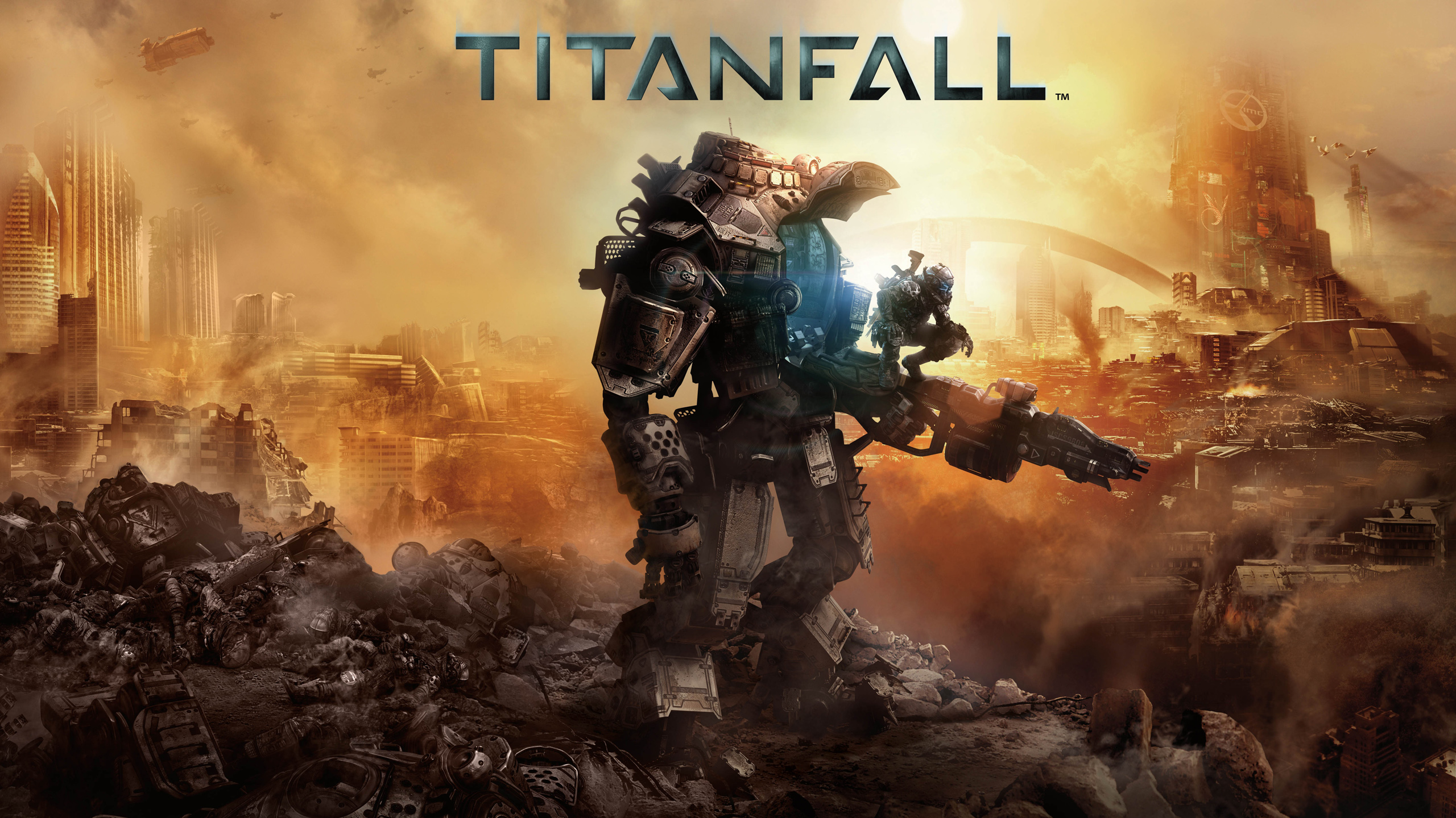 Titanfall 2014 Game Wallpapers HD Wallpapers 2560x1440