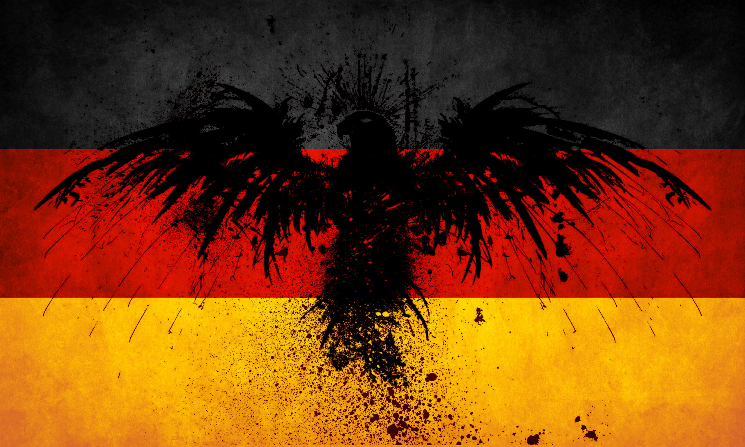 Germany flag art wallpaper High Quality WallpapersWallpaper Desktop 2560x1536
