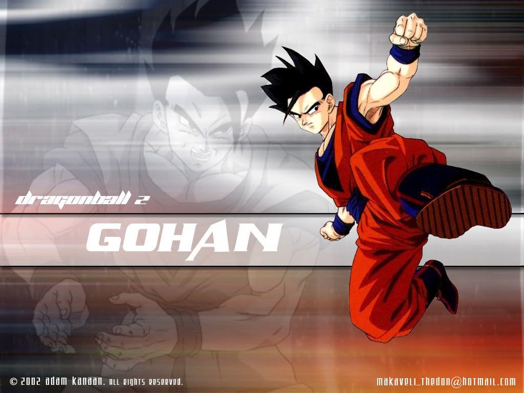 Gohan Wallpapers 1024x768