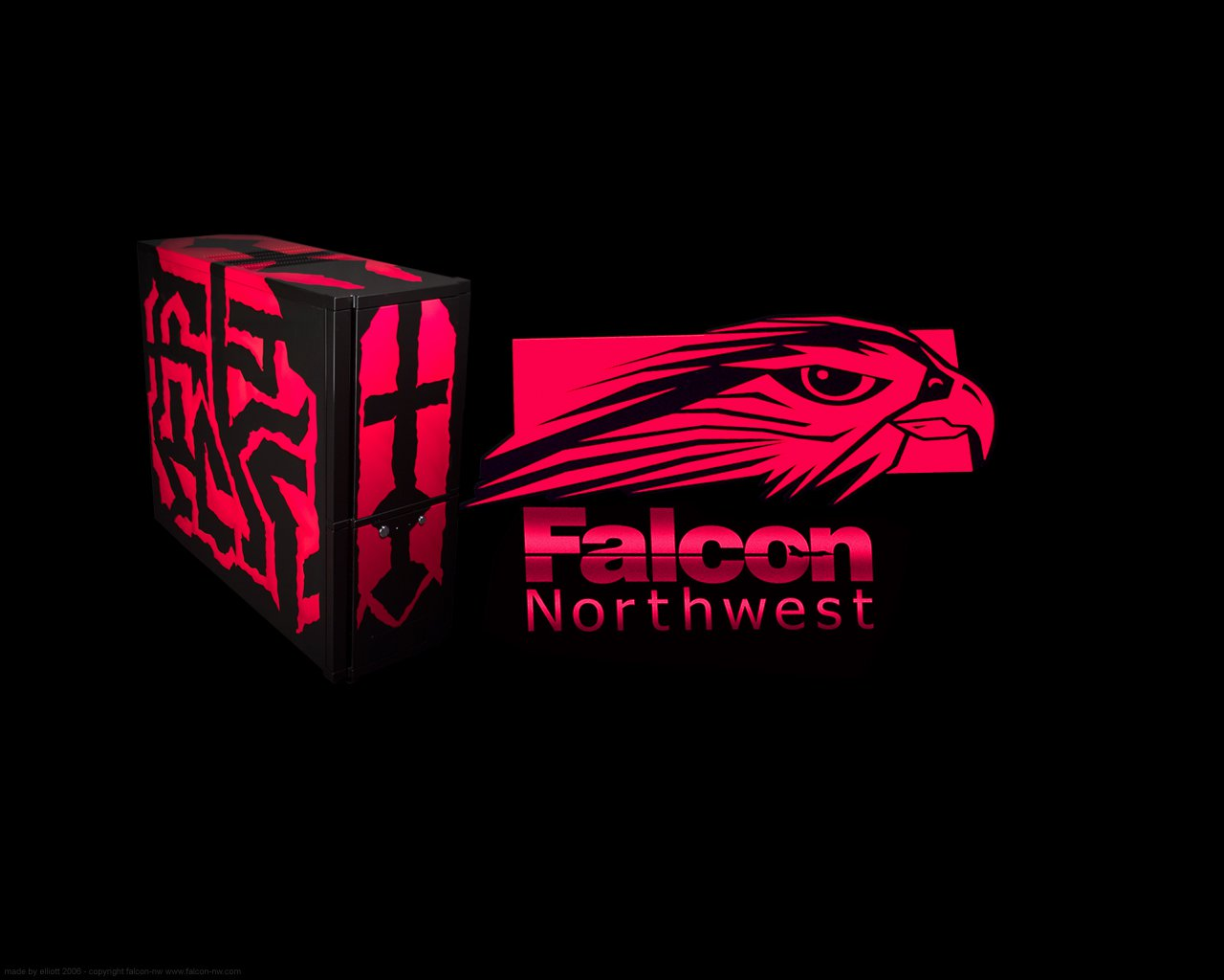 Falcon Northwest Wallpaper by falcon nw 1280x1024