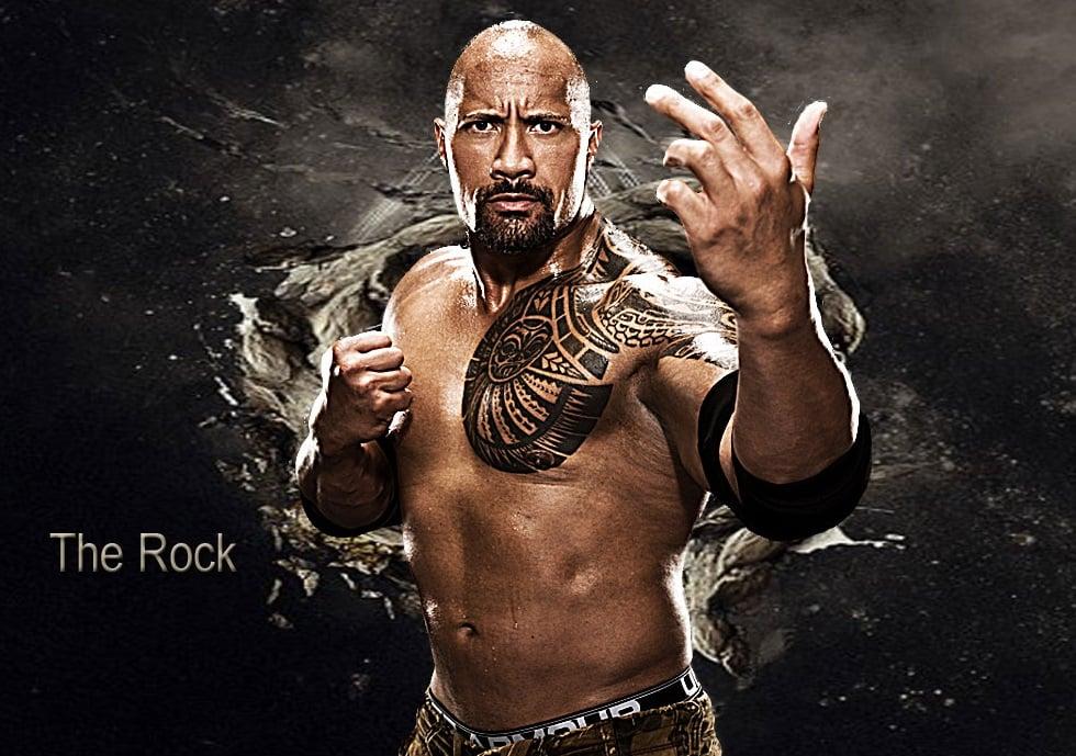 The Rock 2013 HD Wallpaper   Wrestling Wallpapers 980x689