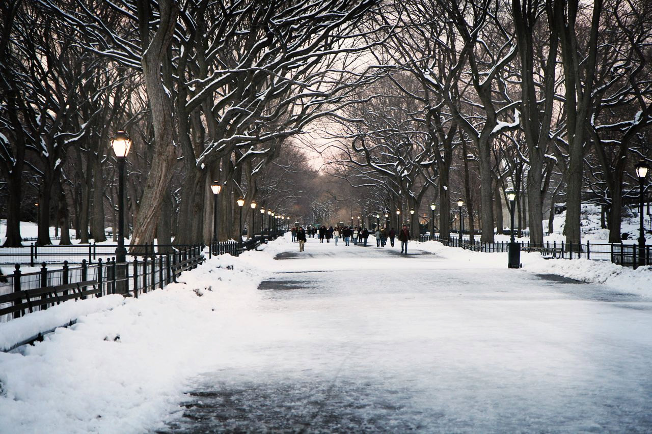 Winter Desktop Wallpaper New York City 1280x853