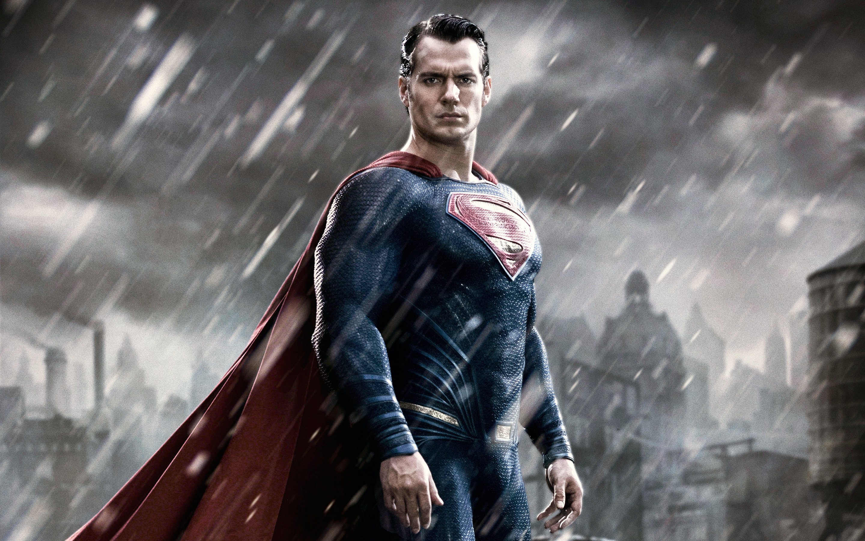 Superman in Batman v Superman Dawn of Justice Wallpapers HD 2880x1800