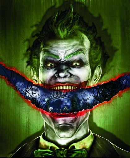 the joker arkham asylum smiling 2776x3376 wallpaper Art HD Wallpaper 420x510