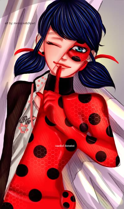 Ladybug   Miraculous Ladybug by IAMeikoD 400x670