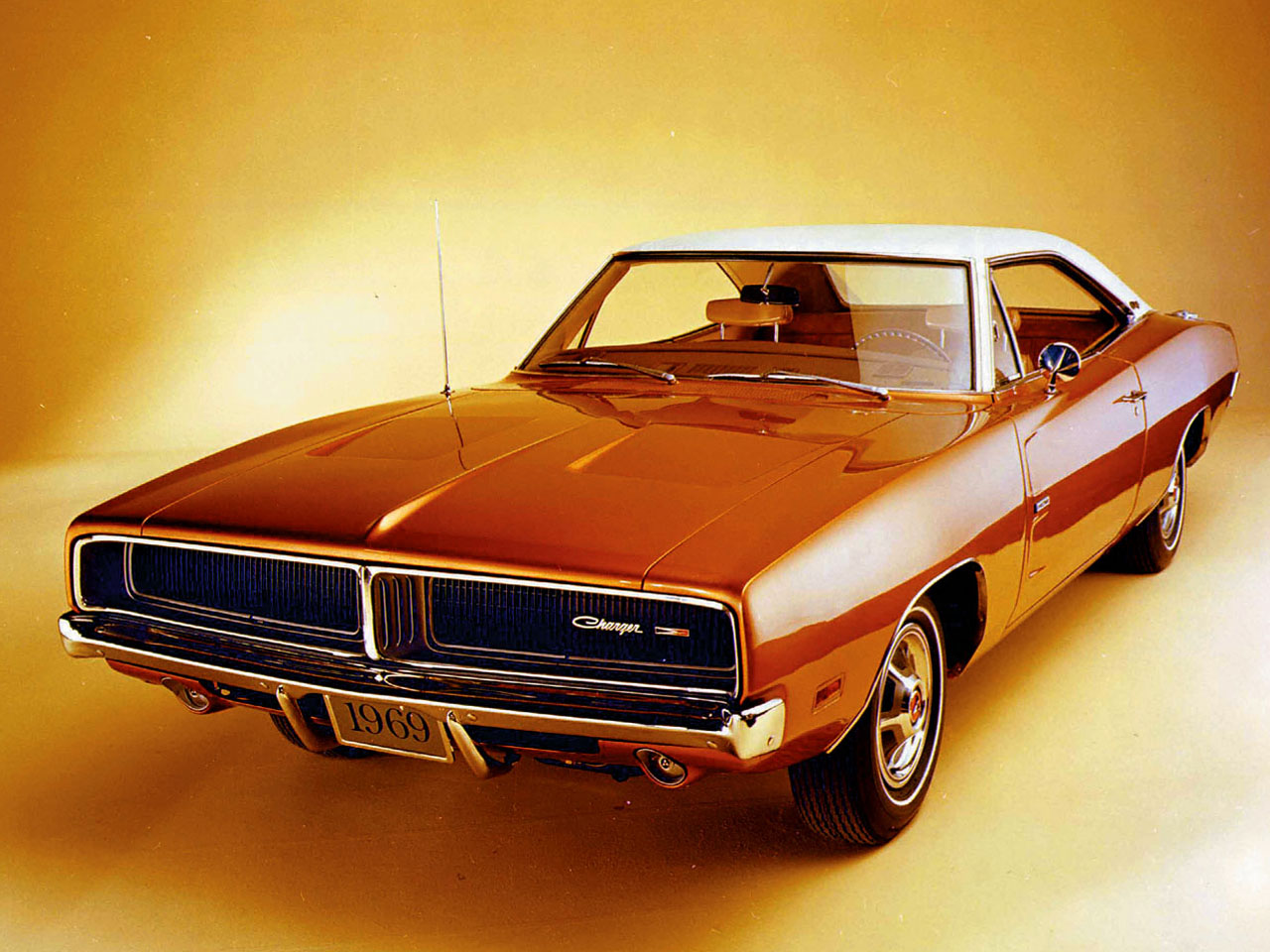 1969 Dodge Charger Wallpaper 1280x960