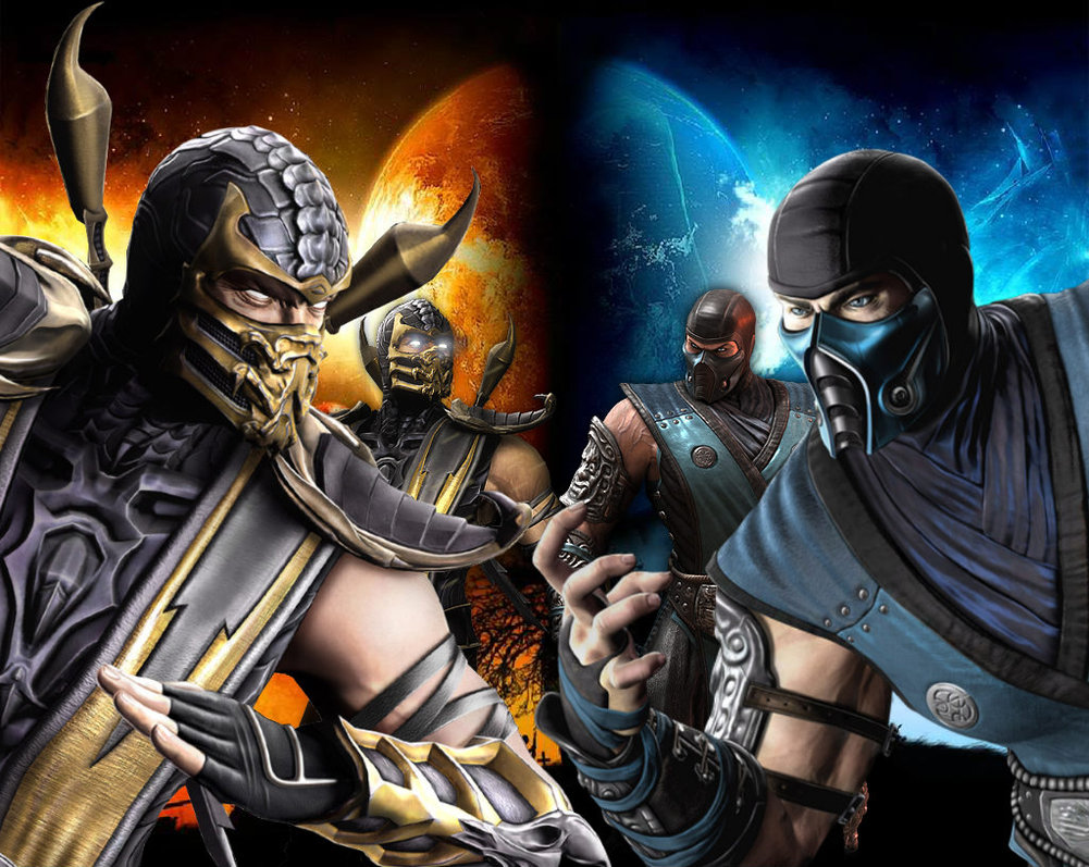 Scorpion in Mortal Kombat X Wallpapers Best Wallpapers FanDownload 1001x797