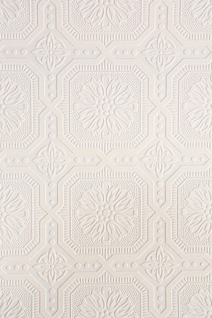 Graham Brown Floral Square Paintable Wallpaper 730x1095