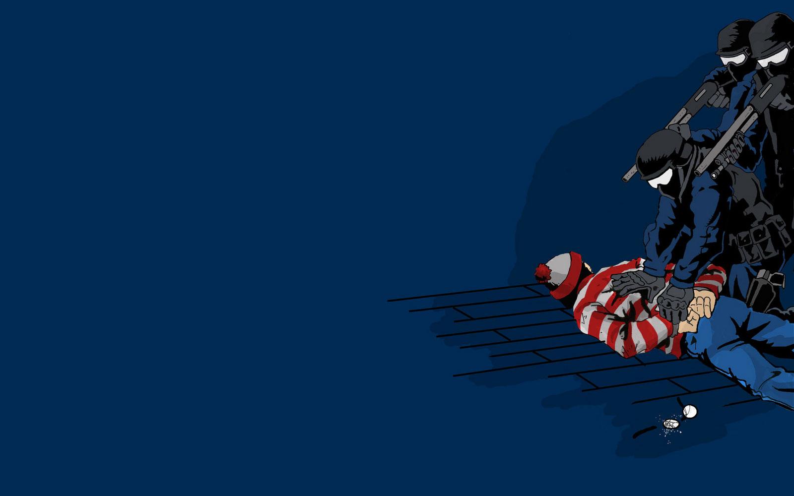 Word on the street is that Waldo wears stripes to break up the 1600x1000
