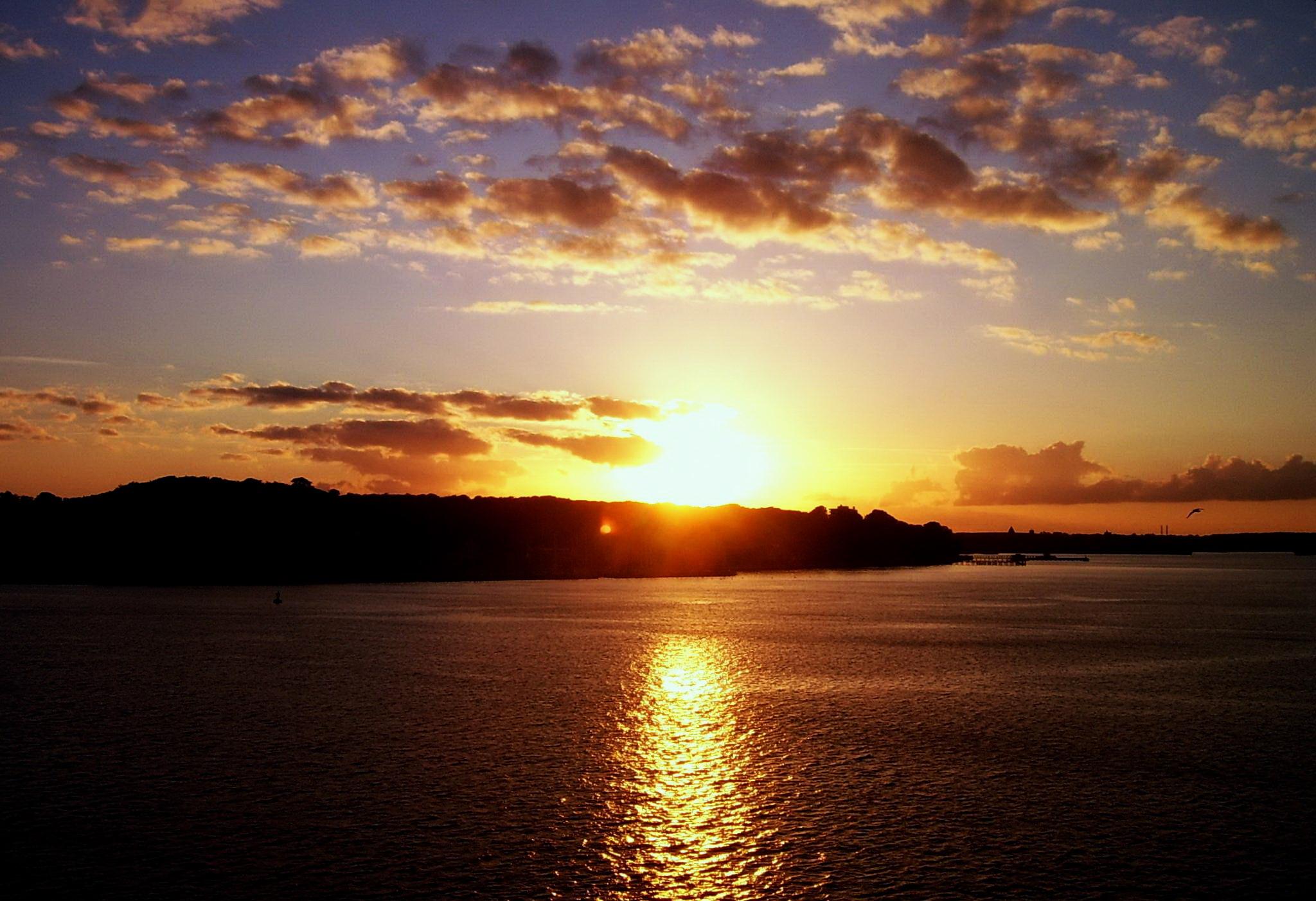 Beautiful Sunset in Kiel Wallpapers HD Wallpapers 2048x1403