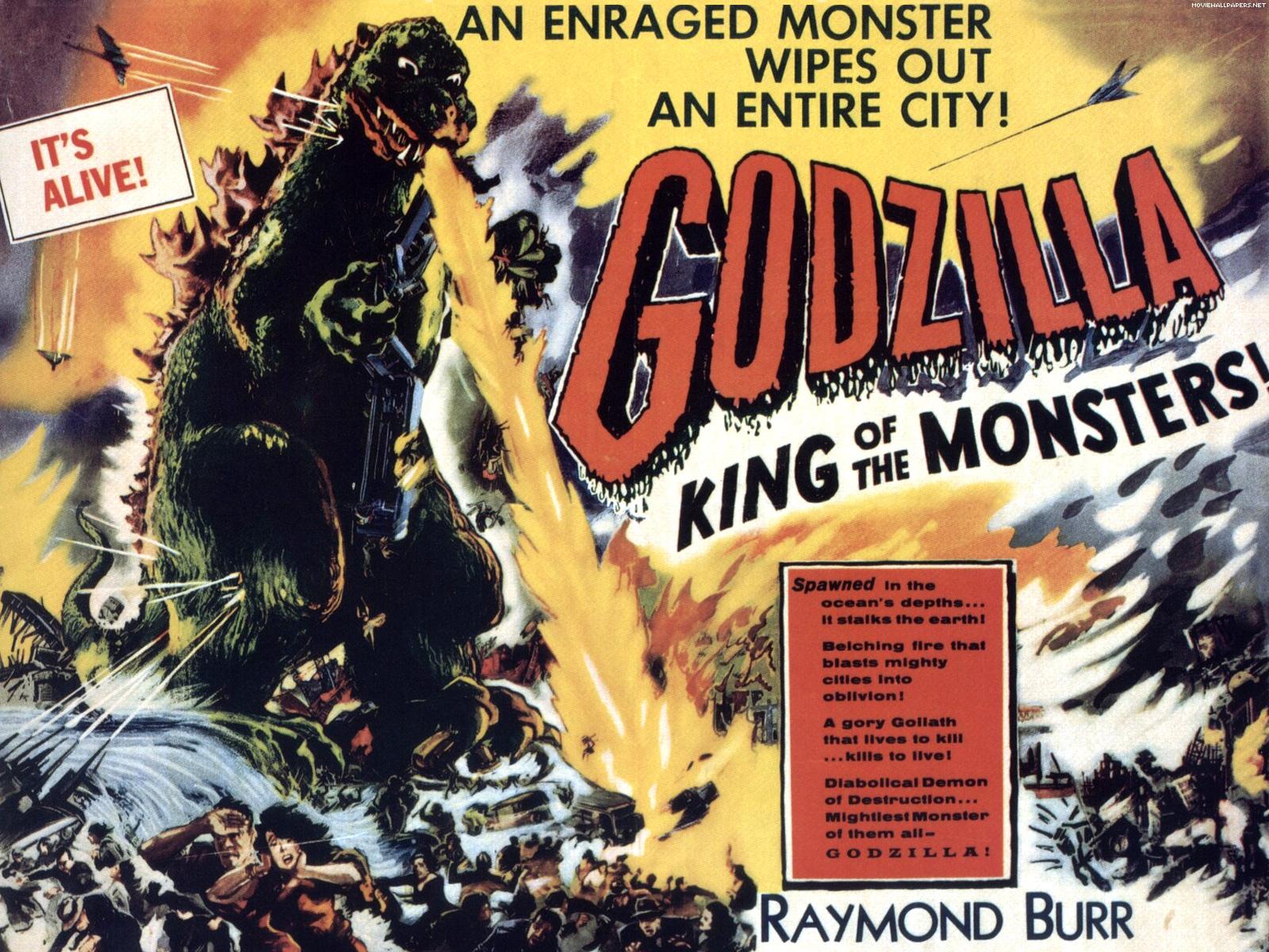 Godzilla   Classic Science Fiction Films Wallpaper 1024407 1600x1200